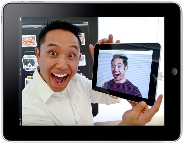 Australian steht auf das iPad (Foto: Josh Liba, Creative Commons)