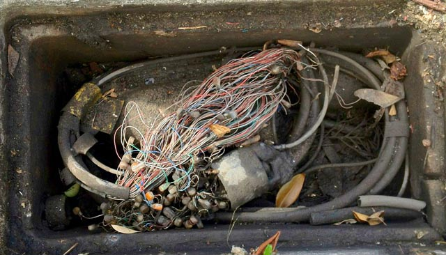 worst of the worst  photos of australia u0026 39 s copper network