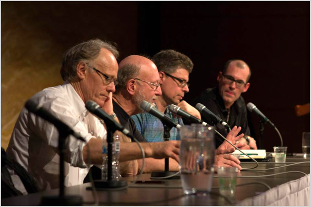 Panel session at The Origins of Consciousness Tour in Sydney during October 2012 with technology writer Mark Pesce, best-selling author Graham Hancock, Ethnopharmologist Dennis Mckenna and film maker Mitch Schultz.
