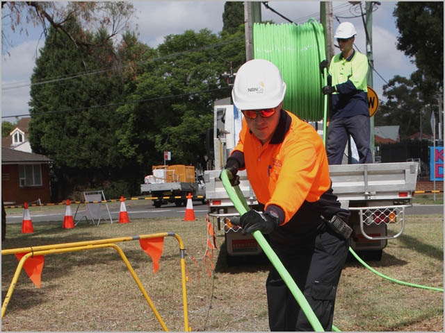 NBN fibre rolling out to Blacktown