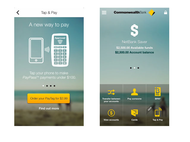 Strong NFC Push By CommBank, Coles